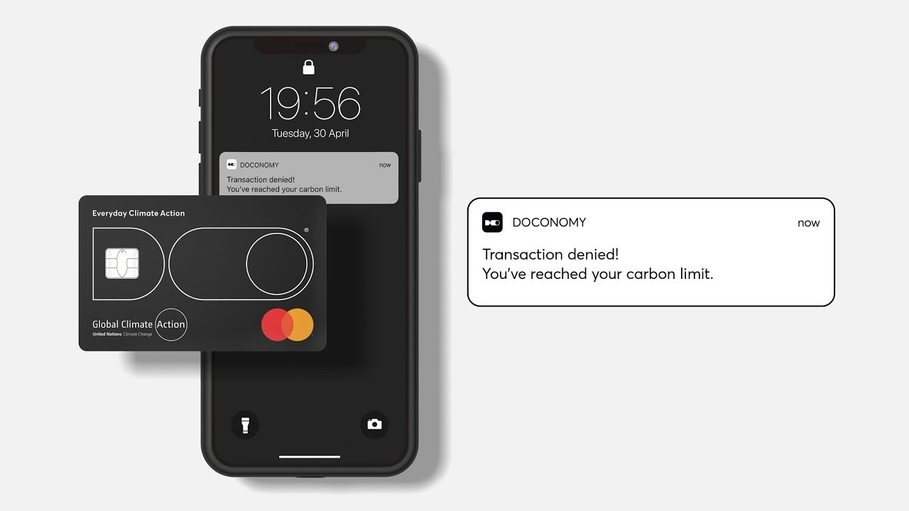 Do card, la carte bleue qui limite les émissions carbone