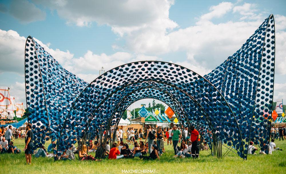 Le plastique déprogrammé des festivals